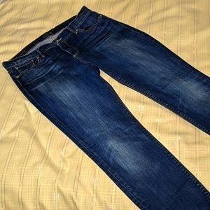 Lucky Brand Brooke Skinny Navy Jeans 6/28